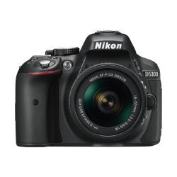 Nikon D5300 Digital SLR Camera Body With AF-P 18-55mm VR Lens