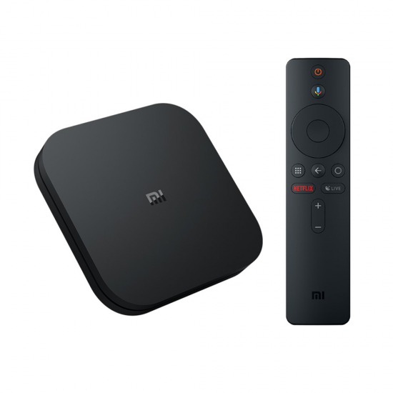 Mi TV Box S with Google Assistant and built-in Chromecast