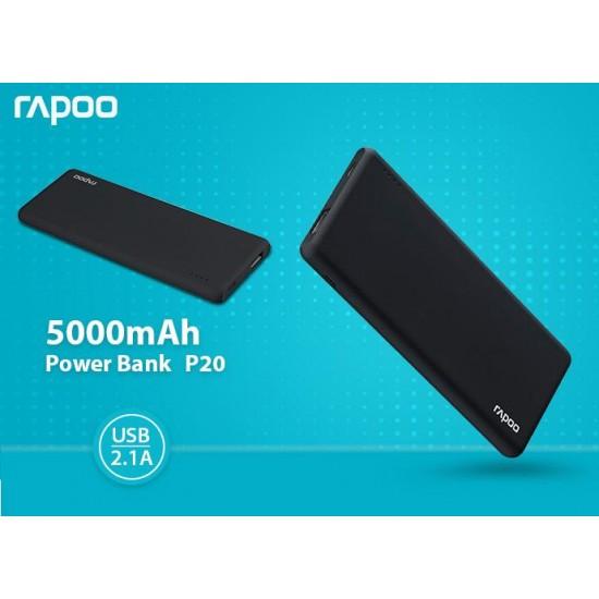 Rapoo P20 5000mAh Power Bank