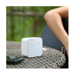 REMAX RB-M18 Fabric Portable White Bluetooth Speaker
