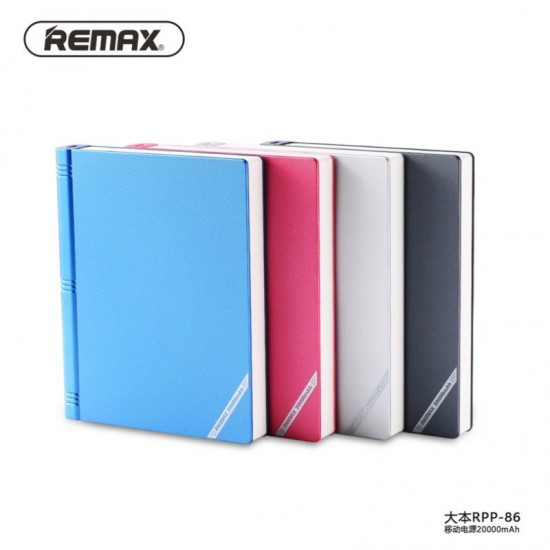 Remax RPP86 20000mAh Jumbook Power Bank