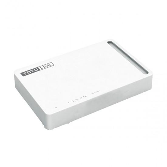 Totolink S505 5Port 10 100Mbps Desktop Switch