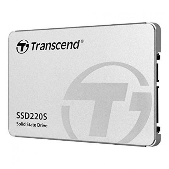 """Transcend SSD220S 2.5"""" SSD SATA III 6Gbs Internal 120GB SSD"""
