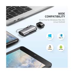 Ugreen USB-C TF SD Gray Card Reader