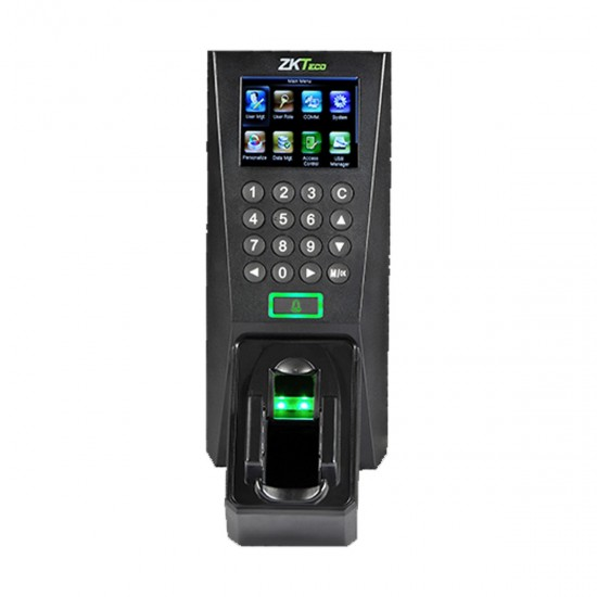 ZKTeco FV18 Multi-Biometric Finger Vein and Fingerprint Standalone Time Attendance & Access Control Terminal